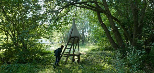 Hulebyggerne fra Ramasjang bygger jorden-er-giftig-legeplads